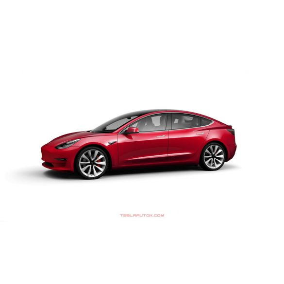 TESLA Model 3 Performance Red Multi-Coat