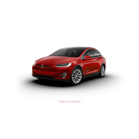 Tesla model X Long Range Red Multi-Coat