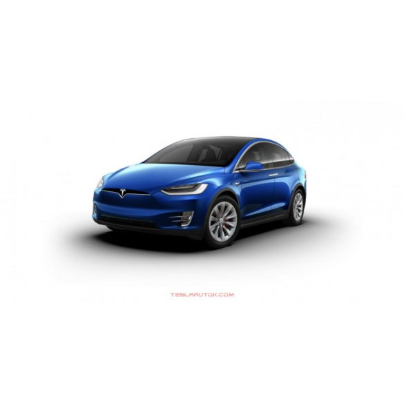 Tesla model X Performance Deep Blue Metallic