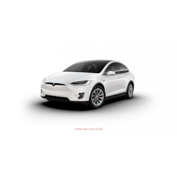 Tesla model X Performance Pearl White Multi-Coat