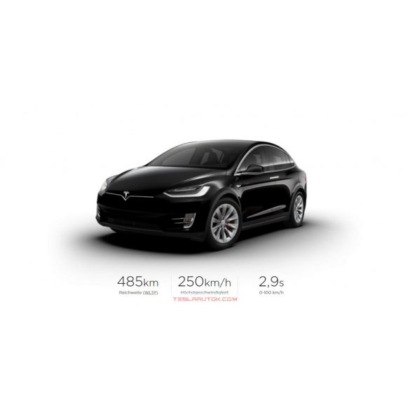 Tesla model X Performance Solid Black